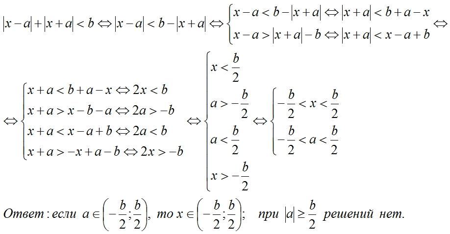 задачи с параметрами часть 1 задача 1